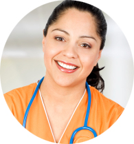 Nurse Sunila, Qualified in India